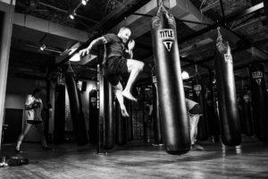キックボクシングジムの写真