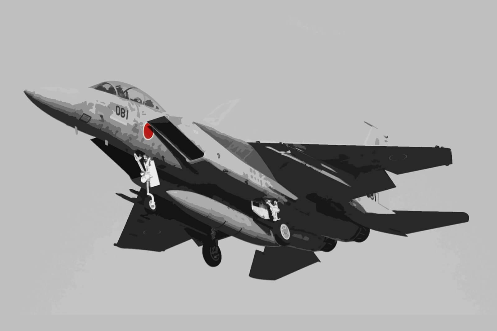 F15戦闘機の写真