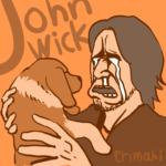 ジョン・ウィックのイラスト
