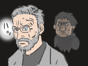 映画『ザ・フォーリナー/復讐者』のイラスト