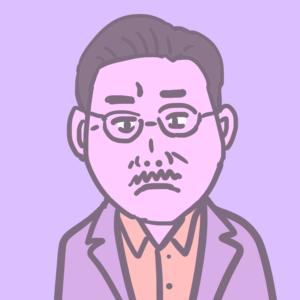 映画『パラレルワールド・ラブストーリー』須藤のイラスト