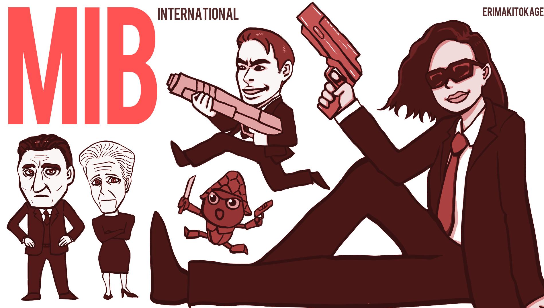 『メン・イン・ブラック:インターナショナル』のイラスト
