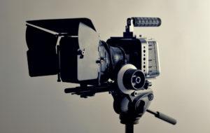 ビデオカメラの写真