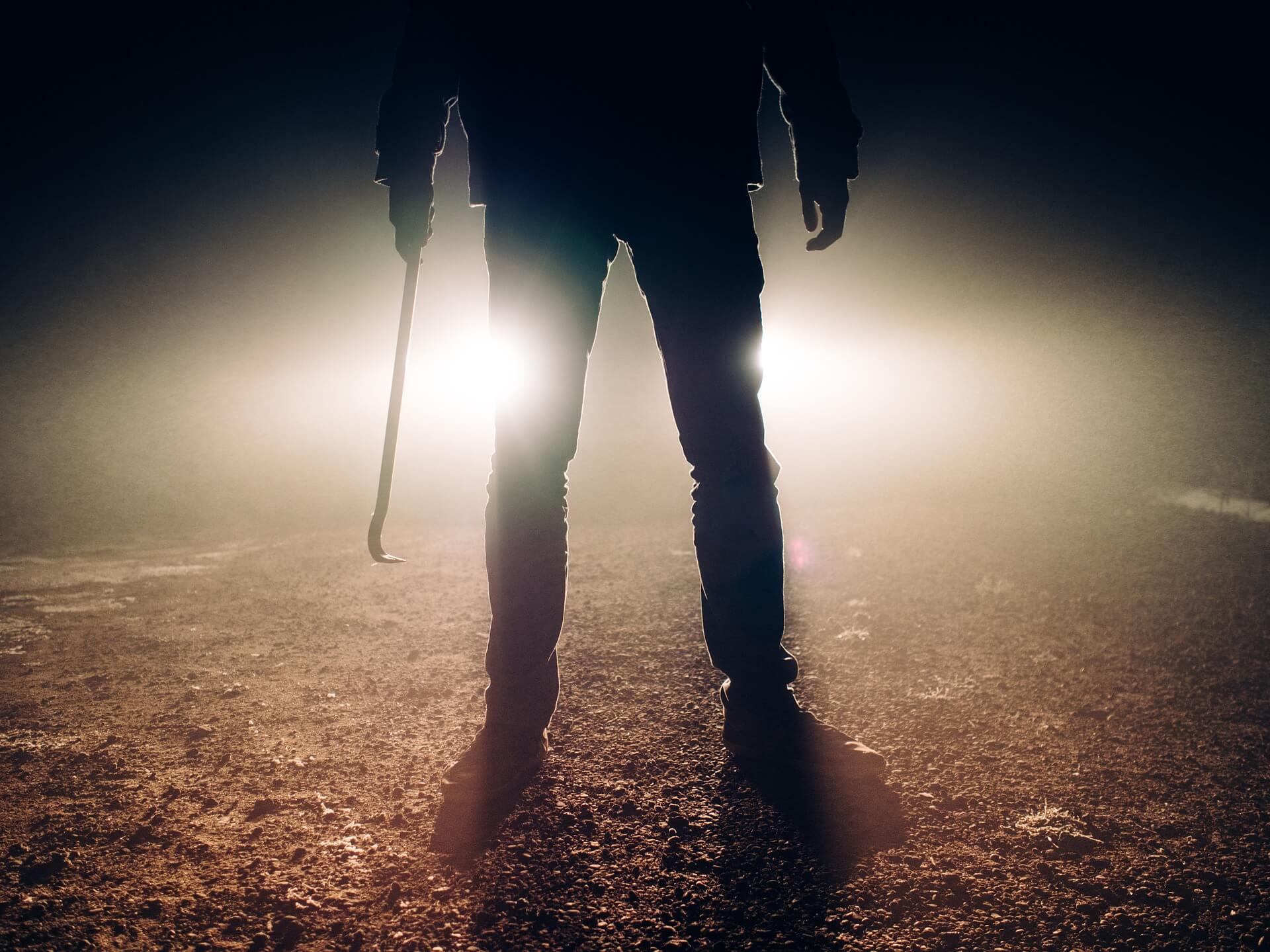 殺人を犯す犯人のイメージ