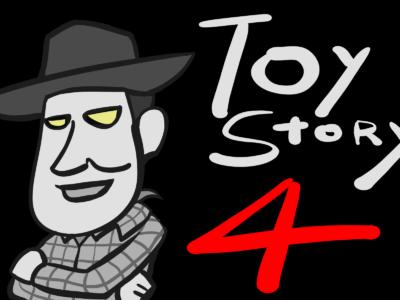 『トイ・ストーリー4』のイラスト