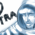 映画『アド・アストラ』のイラスト