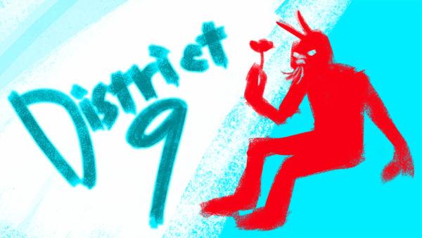 『第9地区』のイラスト