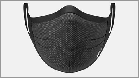 公式サイトのアンダーアーマーのスポーツマスク写真